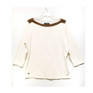 Lauren Ralph Lauren XL Women's Long Sleeve Blouse